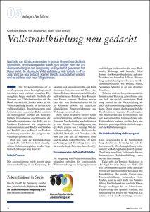 mav-Artikel: Vollstrahlkühlung neu gedacht